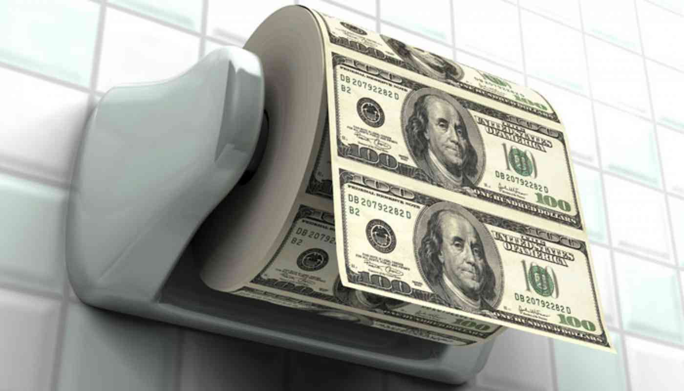 Stop Flushing Money Down the Toilet